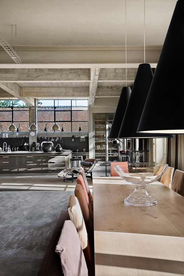 Charboniere 5h - Tjekket loft