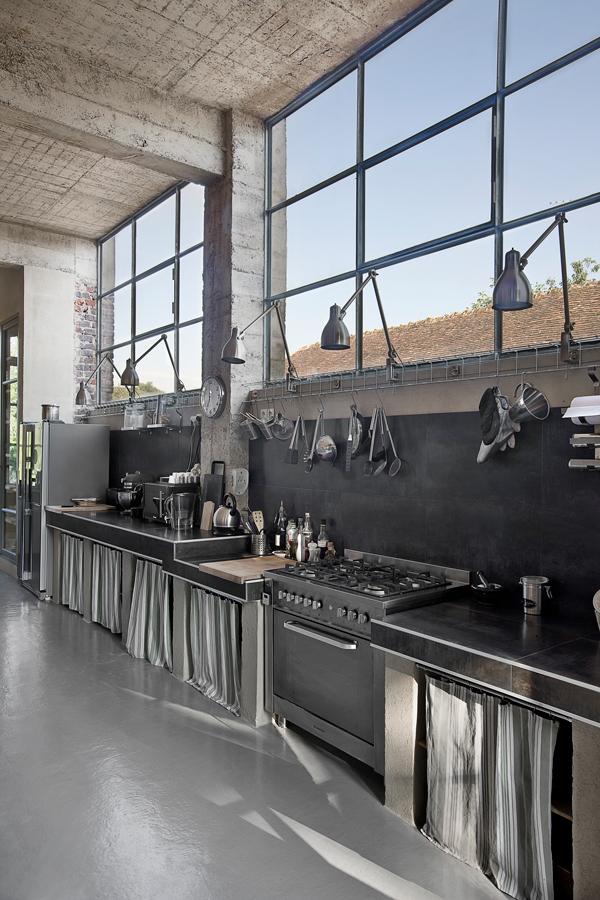 Charboniere 6h - Tjekket loft