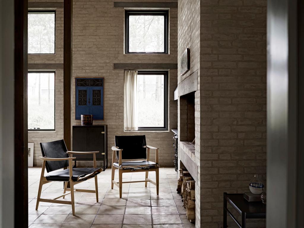 Huntsman chair 1024x767 - Tekstilserie fra Fritz Hansen